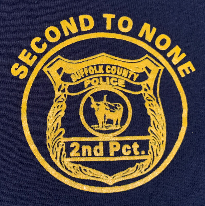 SCPD Suffolk County Police Department Long Island NY T-Shirt Sz 2XL NYPD