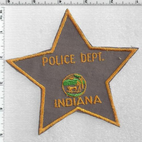 Indiana Police Department (5-Point Star) 1st Issue Shoulder Patch