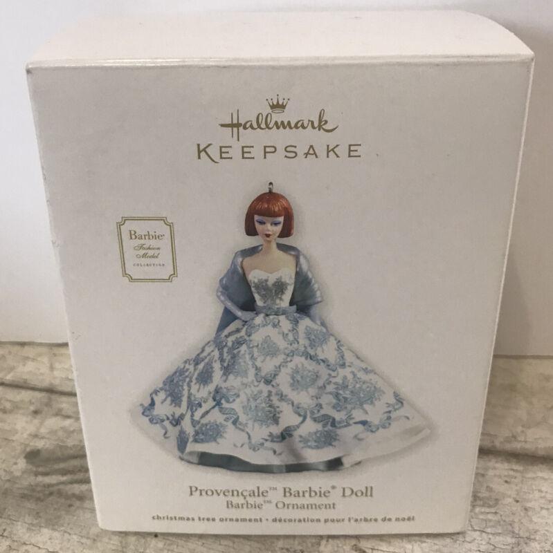2012 Hallmark Keepsake Ornament Provencale Barbie Fashion Model  Christmas