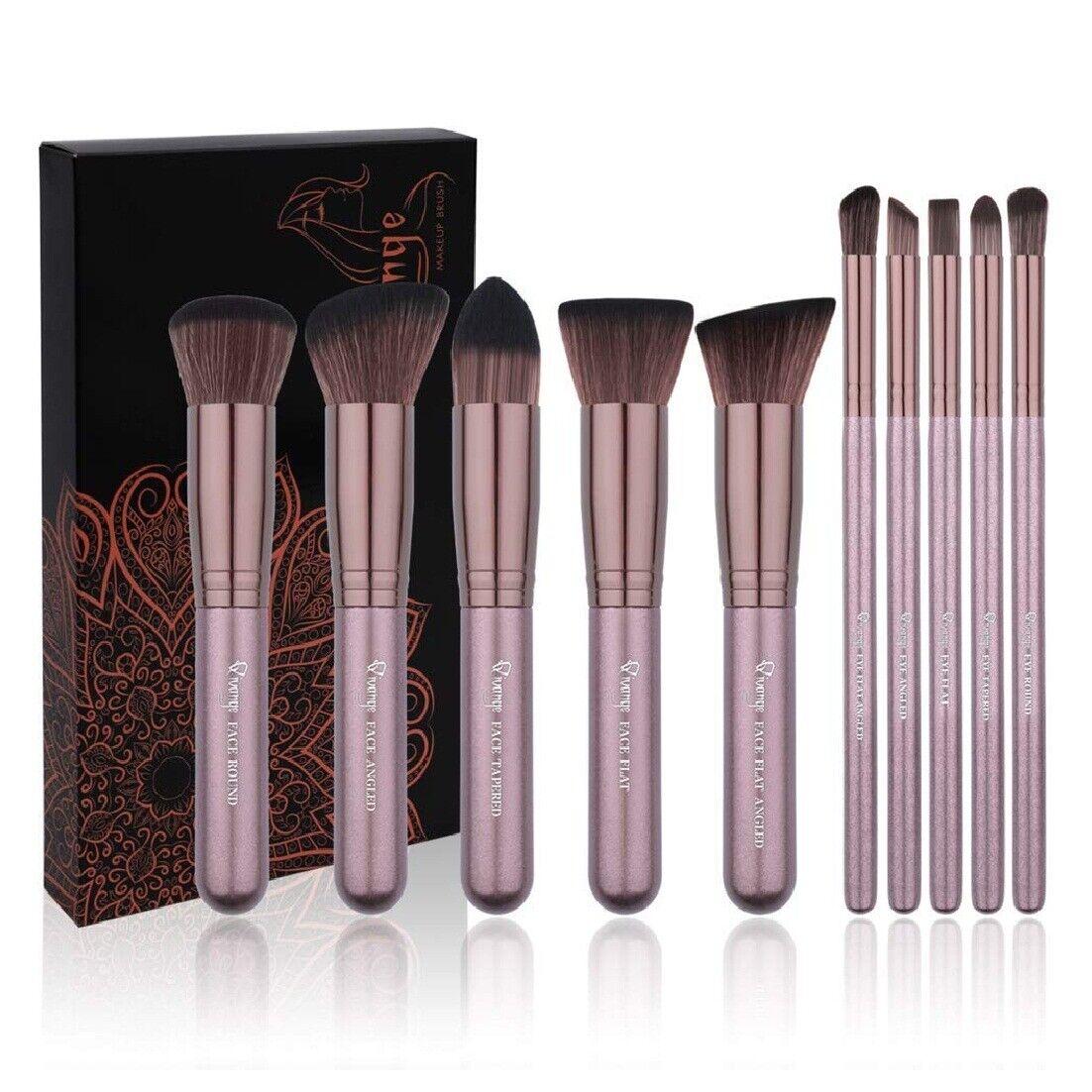 Kabuki Makeup Brush Set Soft Foundation Bronzer Concealer Ey