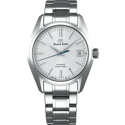Grand Seiko Automatic High-Beat Men's Stainless Steel Watch SBGH201