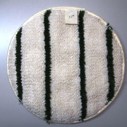 """17"""" RUBBERMAID COMMERCIAL Low Profile Scrub-Strip Bonnet, Green Scrub Strips"""
