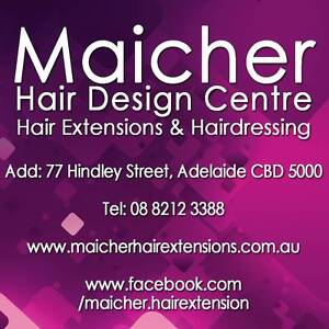 Full Head Permanent Human Hair Extension + Install & Color Match Adelaide CBD Adelaide City Preview