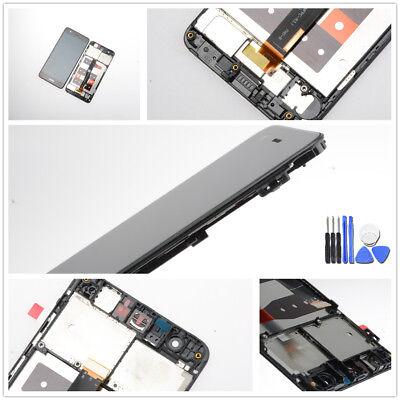 Für Huawei Nova Display LCD Touchscreen Digitizer Rahmen Schwarz inkl. Werkzeug ()