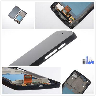 Für LG Google Nexus 5 D821/D820 Display LCD Touchscreen Mit Rahmen Schwarz