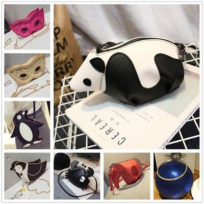 Cartoon Tote Bag (Women Lovely Cartoon Animal Panda Satchel Cross Body Shoulder Totes Bag Handbag )