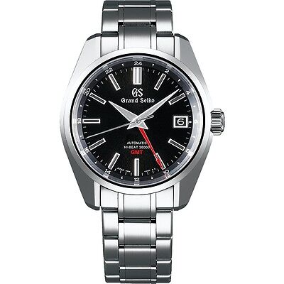 Grand Seiko Mechanical High-Beat GMT Stainless Steel Men's Watch SBGJ203