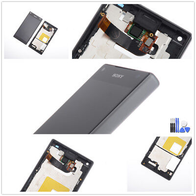 Sony Xperia Z5 Compact E5803 Display LCD Touchscreen Digitizer Rahmen schwarz ()