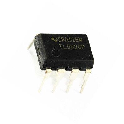 5pcs Tl082cp Tl082 Ti Dip-8 Ic Jfet-input Operational Amplifiers