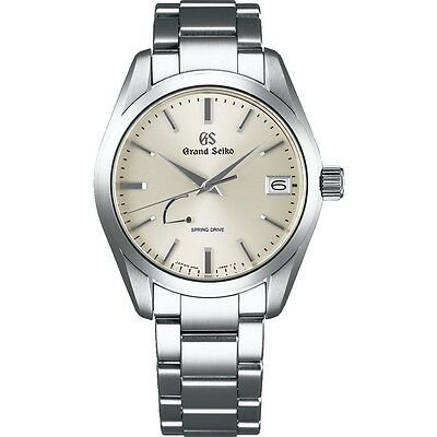 Grand Seiko Spring Drive Men's Stainless Steel Watch SBGA283
