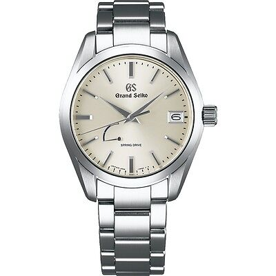 New Grand Seiko Spring Drive Men's Stainless Steel Watch SBGA283