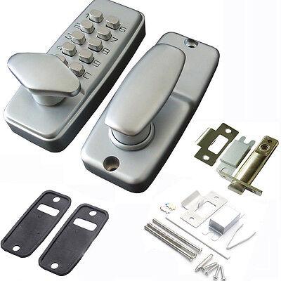 Keyless Deadbolt Digital Electronic Door Lock Keypad Machinery Code Entry Door