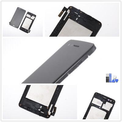 Für LG K8 2017 M200N Display LCD Touchscreen Digitizer Rahmen schwarz Werkzeug ()