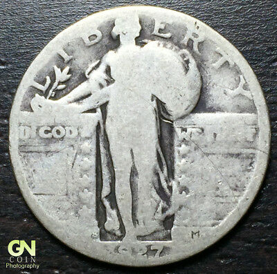 1927 S Standing Liberty Quarter  --  MAKE US AN OFFER!  #R4102
