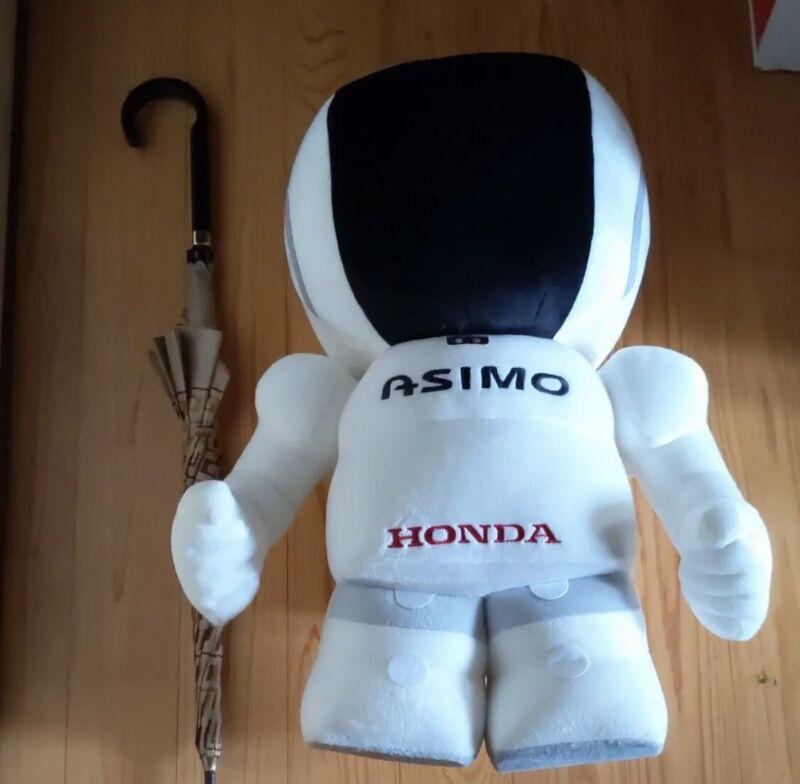 Honda ASIMO BIG SIZE Plush Doll BANDAI JAPAN 25.6inch Very RARE