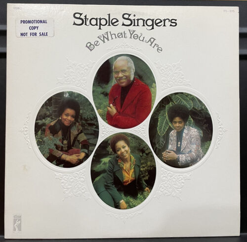 Staple Singers Be What You Are Vinyl LP NM PROMO 73 US 1st Pr Stax STS-3015 - $10.99