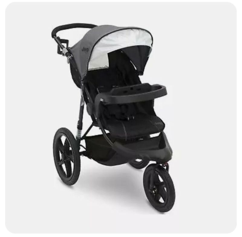 Jeep Classic Jogging Stroller, Grey by Delta Children, New, Open Box, Ships Free