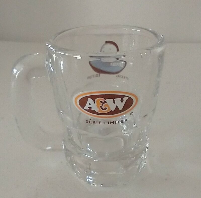 "A&W Mini Root beer Mug Special edition Teen Burger 3.2"" Mug EUC"