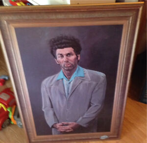Large Seinfeld Wall Art! (2).....$100 For Both