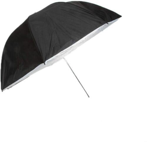 "43"" Black white brolly box Photo Studio Lighting Umbrella Softbox US seller"