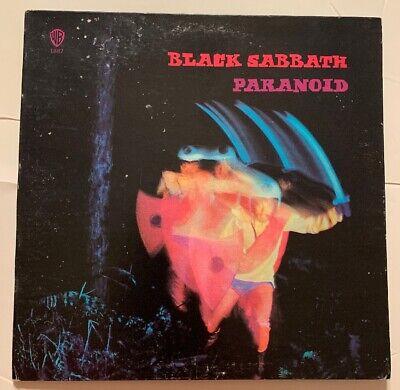 BLACK SABBATH-PARANOID- Warner Bros Record  WS 1887 Palm tree Label Gatefold