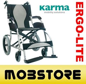Top of the range - Karma Ergo Lite - Wheelchair   8.3kg