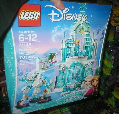 LEGO DISNEY'S FROZEN SERIES ELSA'S MAGICAL ICE PALACE, UNOPENED, 701 PCS, AGE 6-