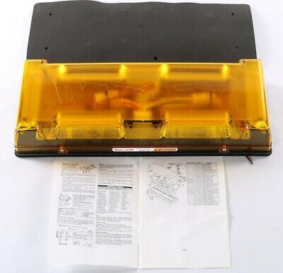 New R2lppa4 Whelen 24vdc Amber Light Bar Responder Lp Series