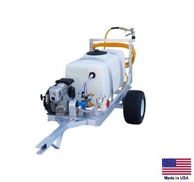 Sprayer Commercial - 2 Wheel Trailer - 7 Gpm - 150 Psi - 5 Hp - 100 Gallon Tank
