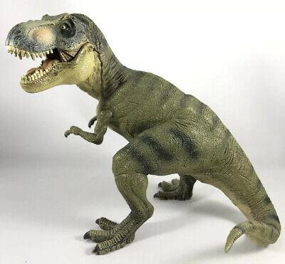 Papo Dinosaur Green T-REX Trex Tyranosaurus Rex Realistic Figure 2005 Moving Jaw