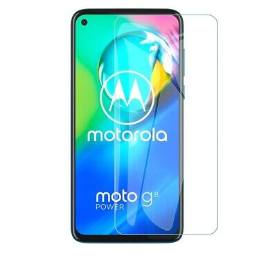 For Motorola Moto G8 Power Tempered Glass Screen Protector Case Friendly