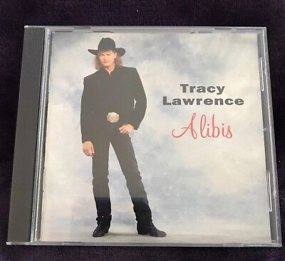 Alibis by Tracy Lawrence (CD, Mar-1993, Atlantic (Label)) (Tracy Lawrence-cd)