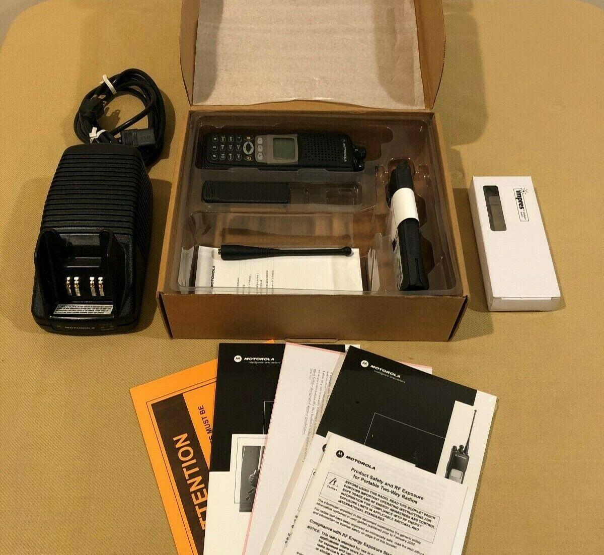 New MOTOROLA XTS5000 III UHF 380-470 MHz R1 Q-SPLIT RADIO w/ 4X ENCRYPTION . Buy it now for 499.00