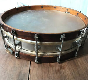 Early 1900's Fred Gretsch Snare Drum trades welcome