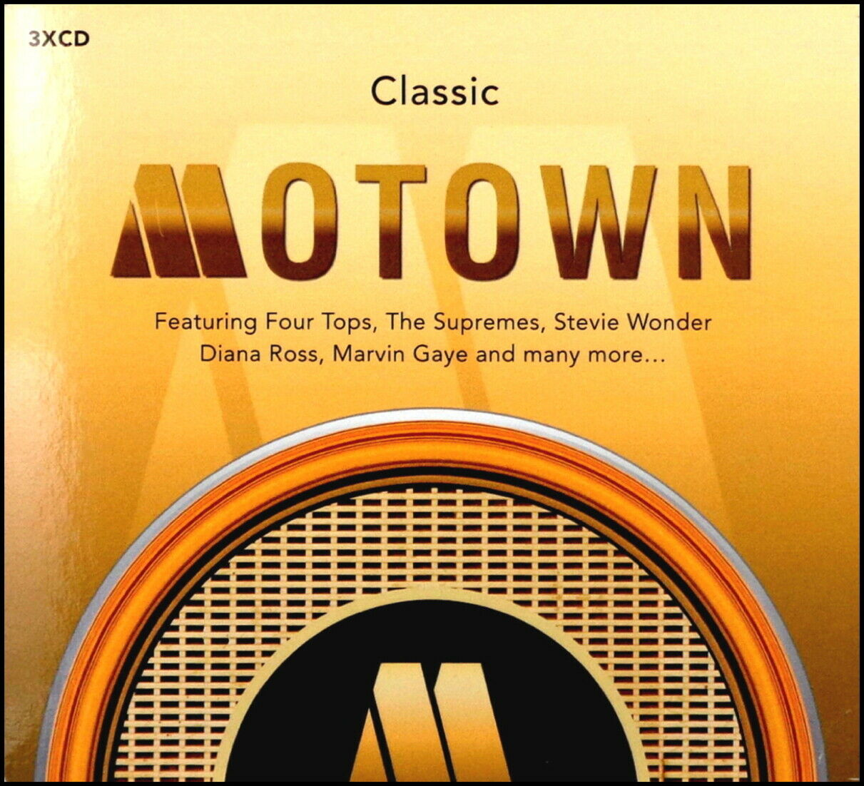 CLASSIC MOTOWN * 60 Greatest Hits * New 3-CD Boxset * All Original Hits * NEW