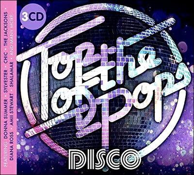 как выглядит DISCO 59 Greatest DISCO Hits NEW 3-CD BOXSET All Original Recordings фото