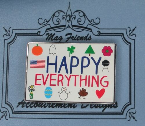 Needle Minder Magnet Happy Everything Accoutrement Designs Cross Stitch