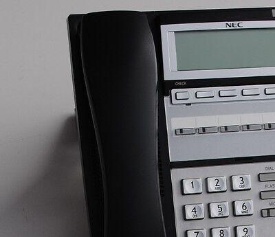 Nec Ip-6v Ip 6-button Display Phone Black Part 0910062 Ip3na-6tixh