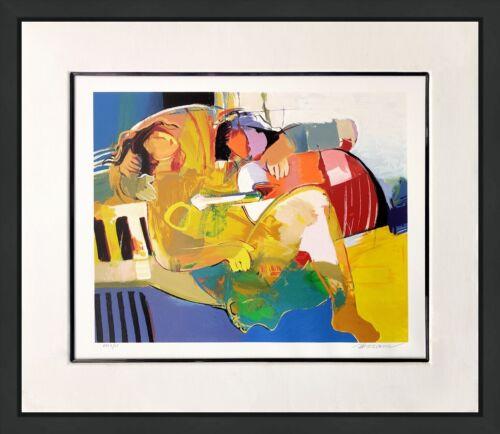"Hessam Abrishami ""desiree""    Signed Serigraph   Framed   Make An Offer Gallart"