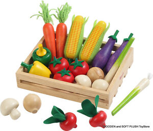 ... wooden-VEGETABLES-CRATE-role-pretend-play-kitchen-food-toy-cubby-house