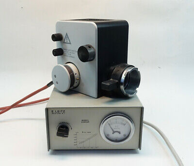 Leitz Dialux 22 Microscope Lamphouse And Power Supply