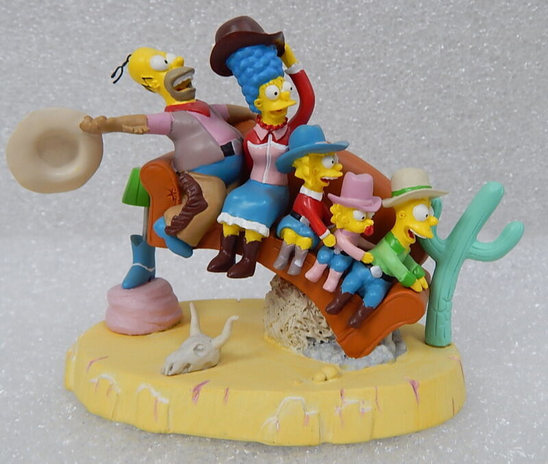 Rodeo 1406 The Simpsons Couch Gags Sculpture Model Figure