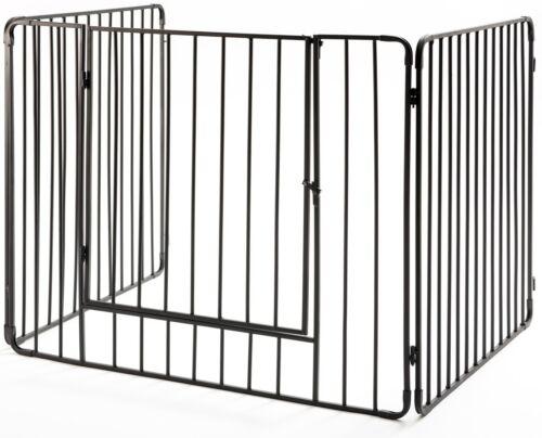 "Crannog Stove Guard Screen H30""  Vertical Bars Fireguard Firescreen & Front Gate"
