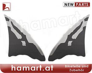 aufkleber set front honda africa twin xrv 750 rd07 silber. Black Bedroom Furniture Sets. Home Design Ideas