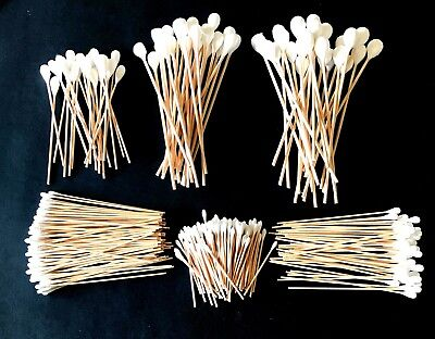 GRIP 325PC INDUSTRIAL LARGE COTTON SWAB TIPS ASSORTMENT DETAILING CLEANING Q GUN