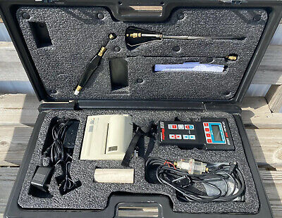 Co Series 2500 Carbon Monoxide Exhaust Analyzer Blanke Needs New Battery Pack