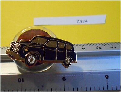 Enamel London Taxi Badge Pin  headlights used to light up no longer working