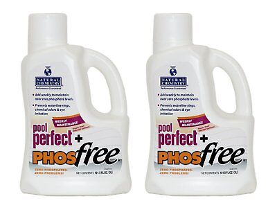 Natural Chemistry Spa Swimming Pool Perfect Plus PHOSfree, 3 Liters (2 Pack) - Natural Chemistry Spa