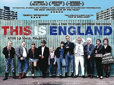 """This is England 2006 16"""" x 12"""" Reproduction Movie Poster Photograph"""