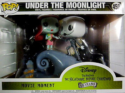 THE NIGHTMARE BEFORE CHRISTMAS Jack + Sally - Funko Pop! - Movie Moments (Under